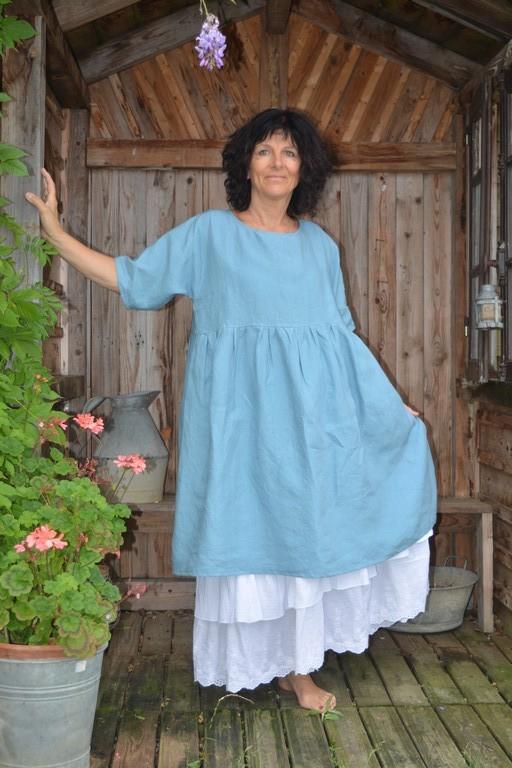 Robe Mathilda bleu